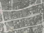 Ištrauka iš žvalgybinės 1944-07-11 aerofotografijos. LCVA skaitmenintų aerofotofgafijų  kolekcija iš JAV nacionalinio archyvo National Archives and Records Administration (NARA), GX 735 SD